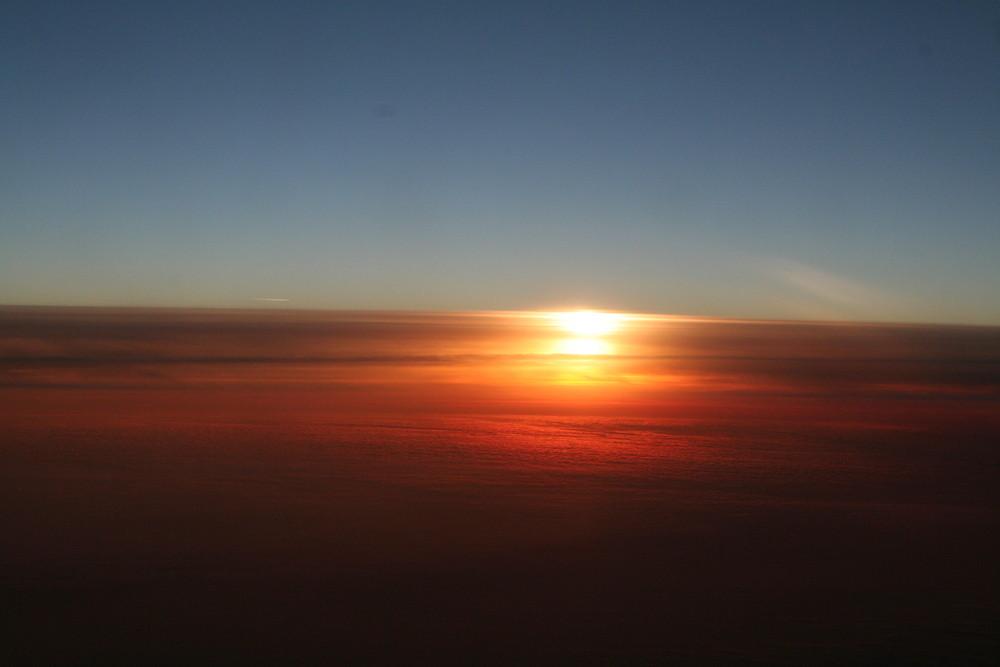 Vom Flugzeug aus...