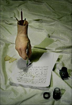 Vom Geschichten denken und träumen, vom Geschichten schreiben...