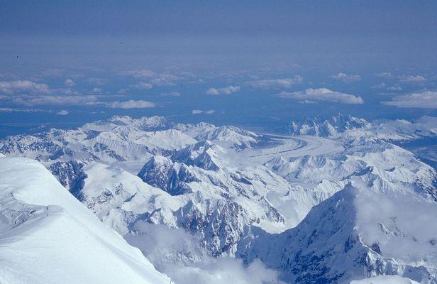 vom Gipfel des Mt. McKinley (1/4)