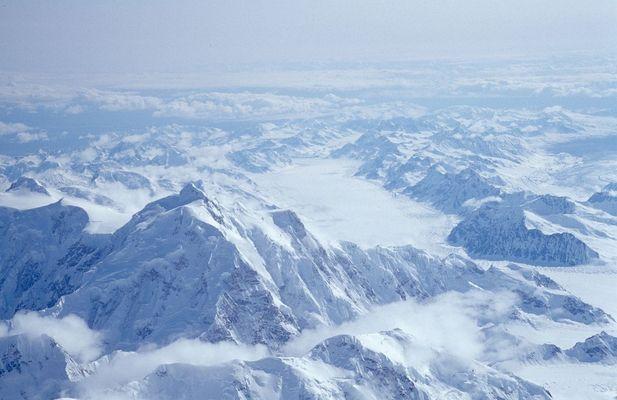 vom Gipfel des Mt. McKinley (3/4)