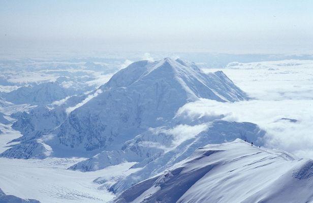 vom Gipfel des Mt. McKinley (4/4)