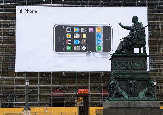 Vom iPhone begeistert...