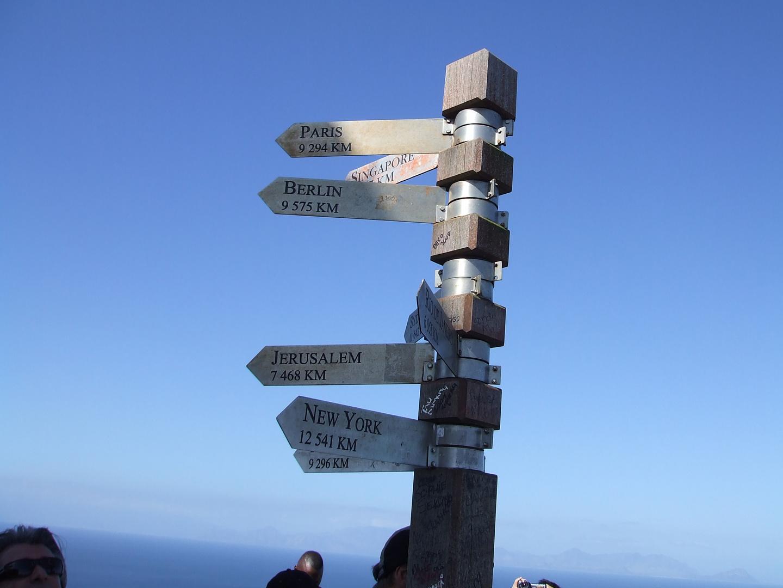 Vom Kap Hoop in die Welt