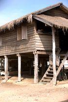 Vom Leben der Thais - Hütte nahe Phitsanulok