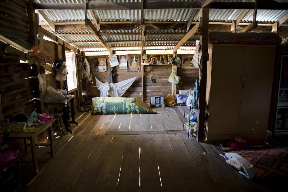 Vom Leben der Thais - Hüttenleben
