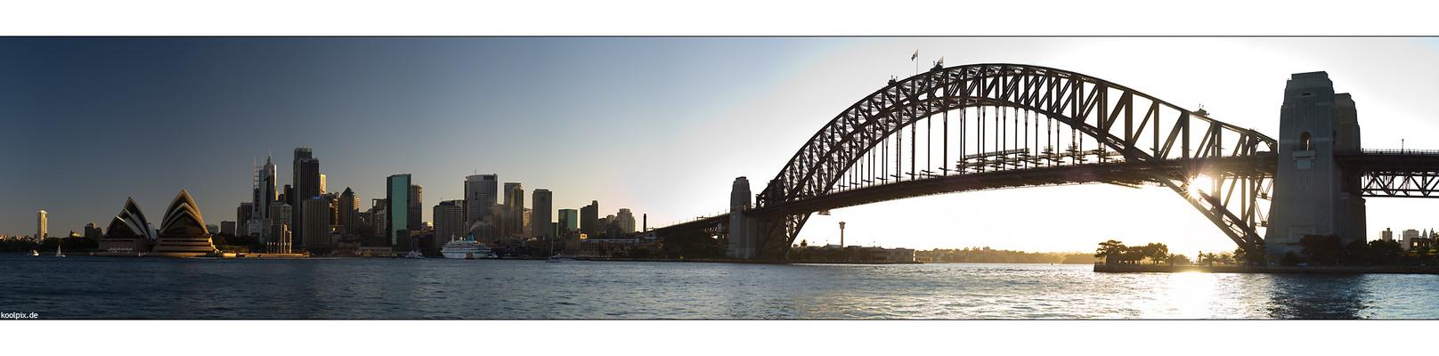 """vom """"Operahouse"""" zur """"Harbour Bridge"""""""