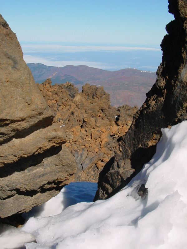 Vom Pico del Teide