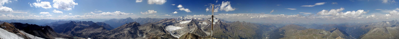 Vom Schareck (3122m)...