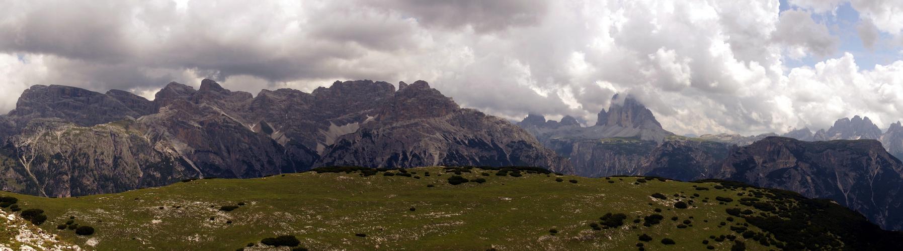 Vom Strudelkopf zu den Drei Zinnen..... Südtirol