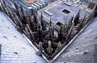 Vom Vierungsturm des Kölner Doms 90° nach unten fotografiert von Walter Kleinert