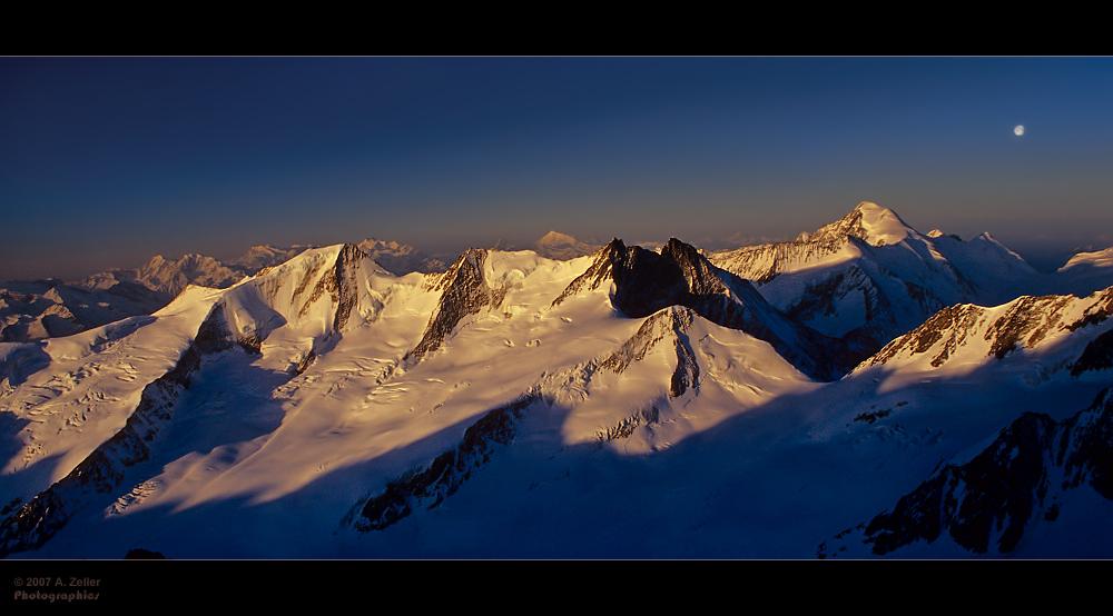 Vom Wannen- bis zum Aletschhorn
