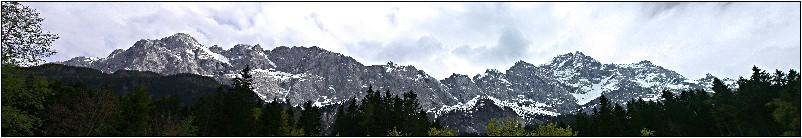Vom Waxenstein bis zur Zugspitze