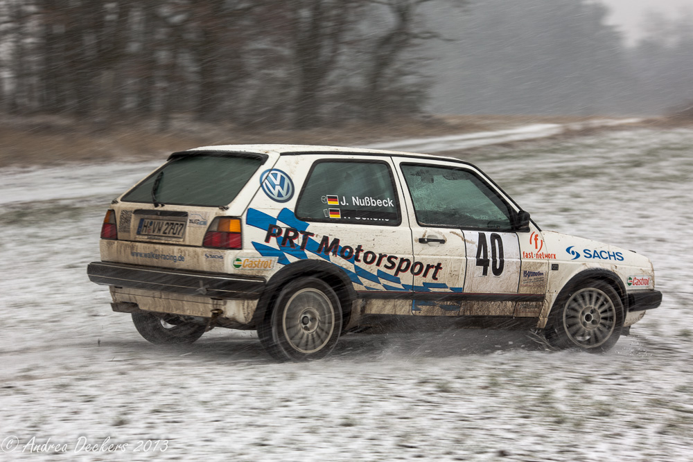 Vom Weg abgekommen - Rallye Stade