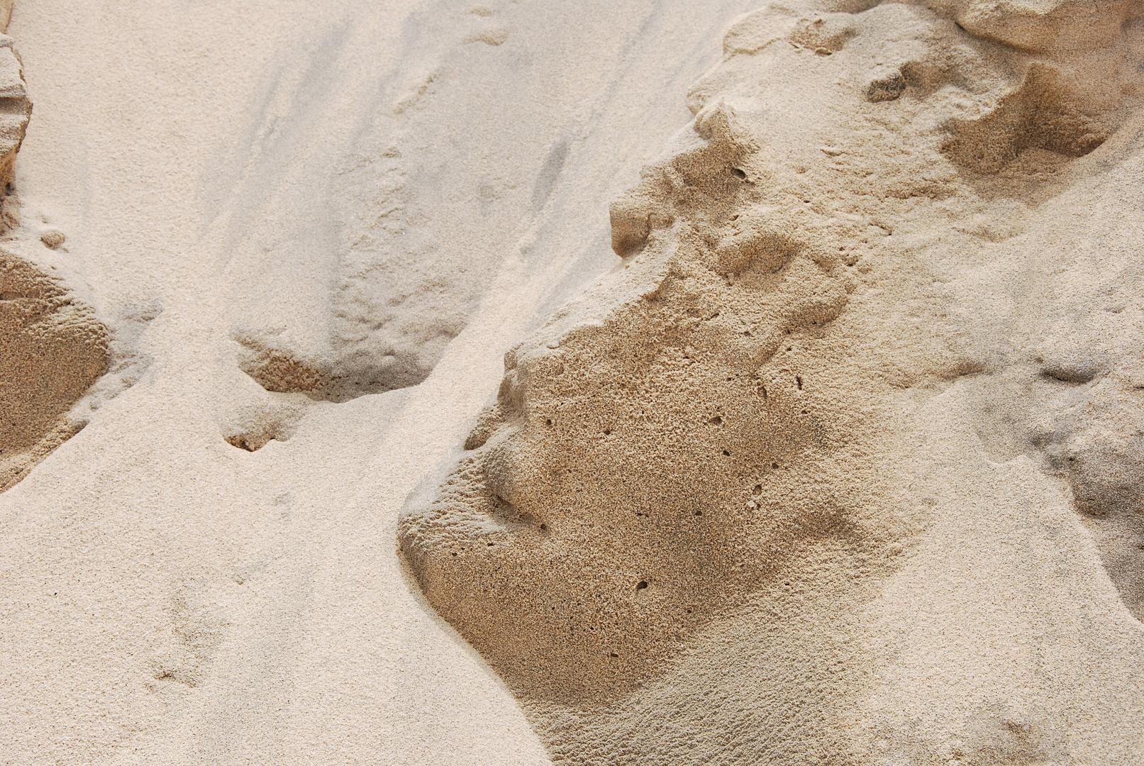 Vom Wind geformter Sand 1, Cabo Verde