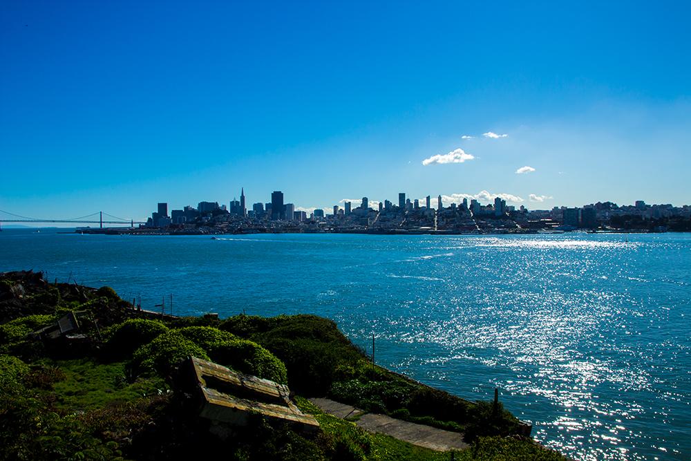 Von Alcatraz aus....
