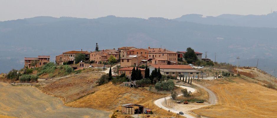 ...von Asciano nach Siena