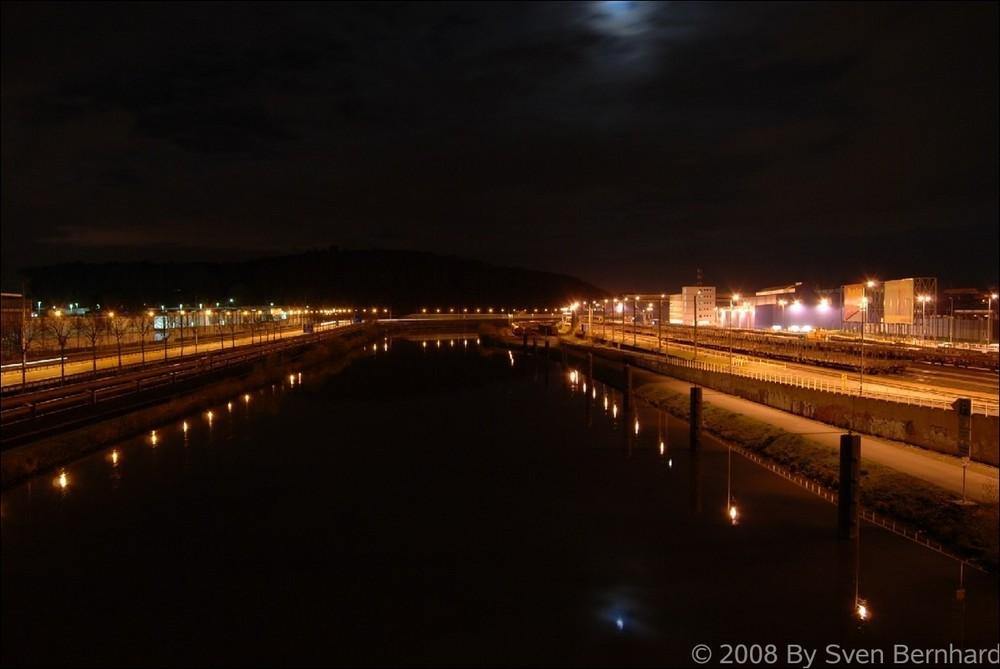 Von der Achterbrücke Saarbrücken