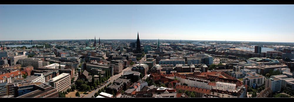 Von der Alster bis zur Elbe