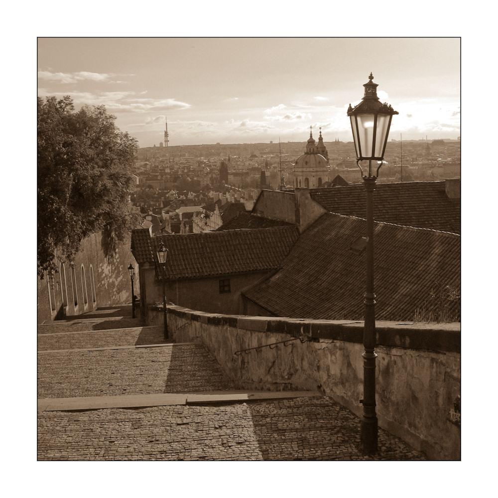 Von der Burg zur Brücke (Prag)