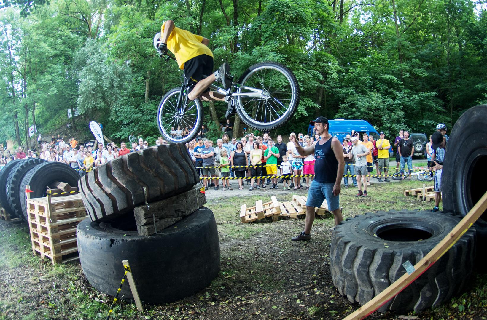 von der Deutschen Trialmeisterschaft MTB in Schatthausen 2012