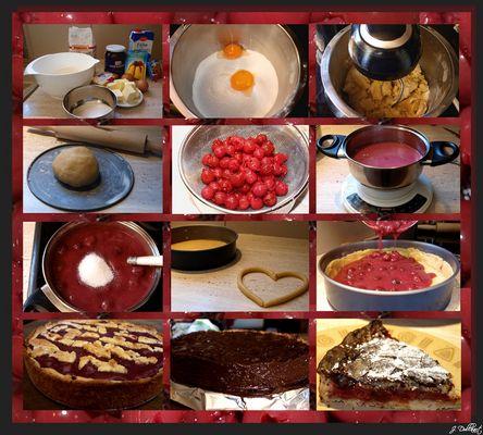 Von der Kirsche,....zum Kuchen !