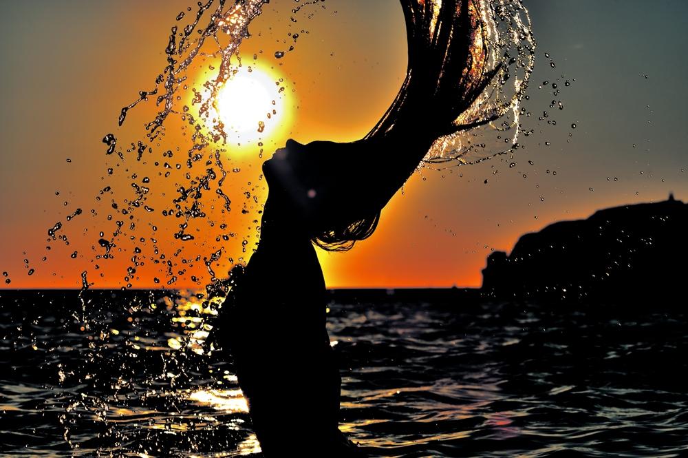 Von der Sonne geküsst