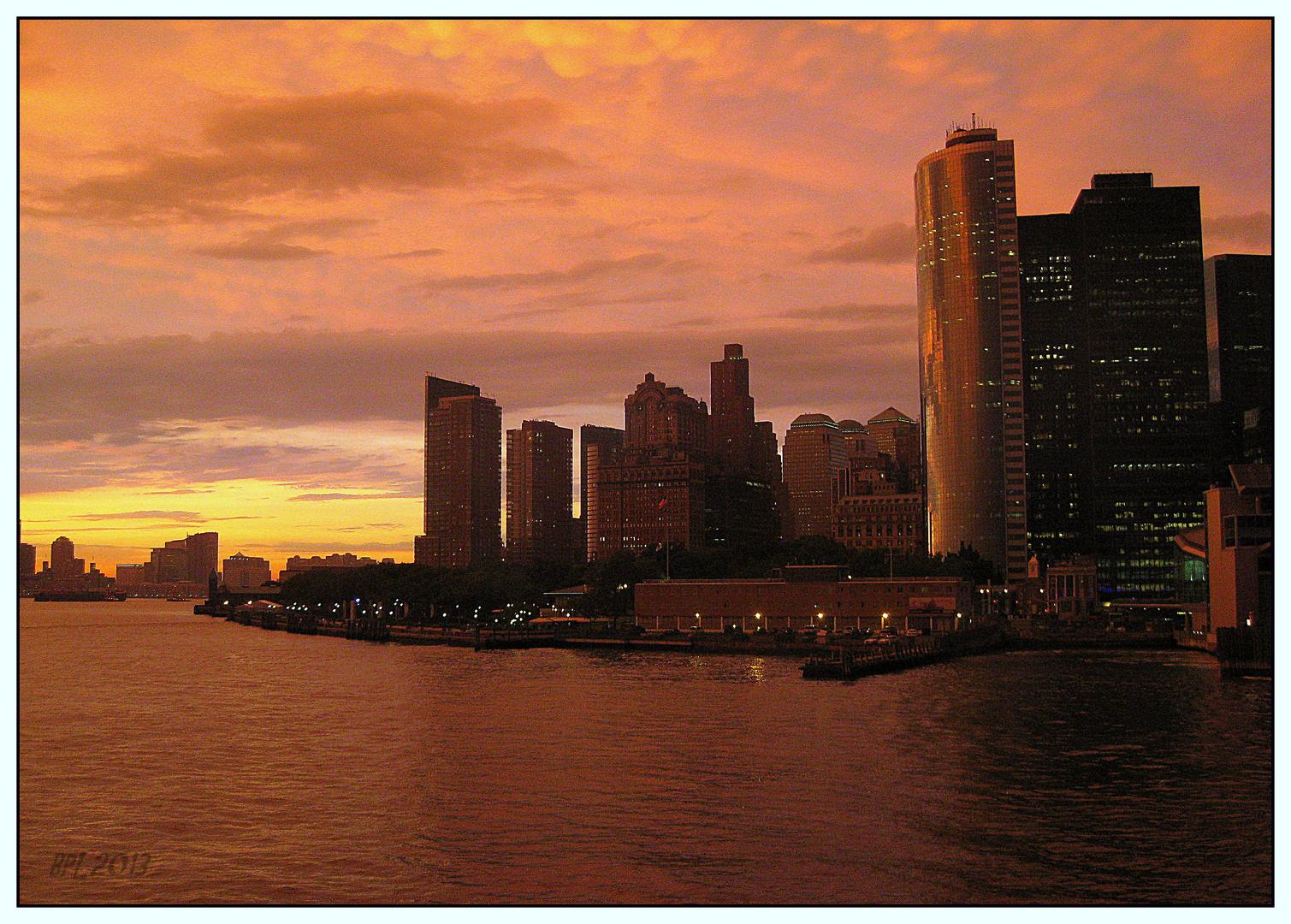-Von der Staten Island Ferry-