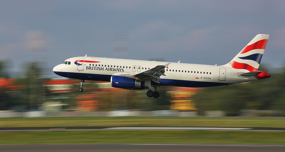Von Heathrow nach Europa