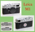 Von LEITZ: Die Leica M1