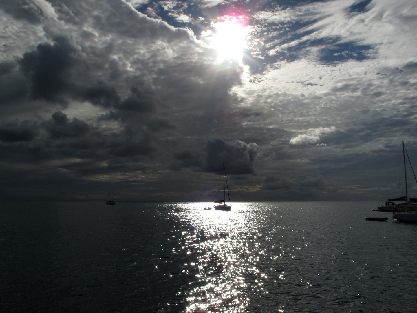 von Nevis nach Guadeloupe / coming from Nevis reaching Guadeloupe