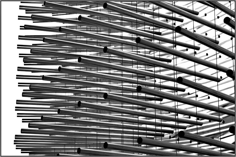 Von Rohr-Skulptur zur Foto-Grafik II