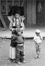 Von Shangrila zum Qomolangma - Familienbild