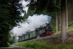 Von Steinbach nach Jöhstadt - mit Dampf