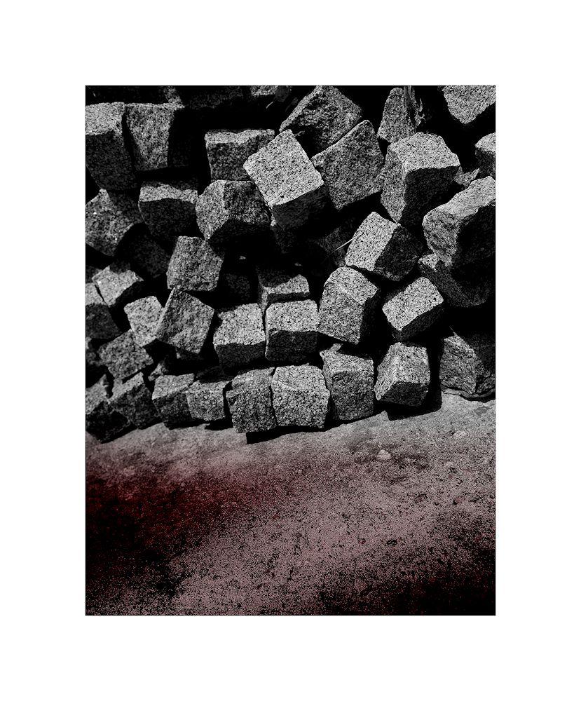 von steinen...