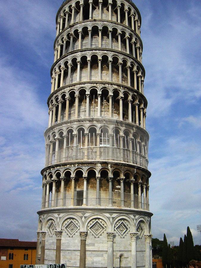 """von wegen """"schiefer Turm"""" von Pisa # 2"""