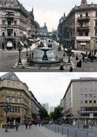 Vor 100 Jahren: Am Kaiserplatz in Frankfurt am Main