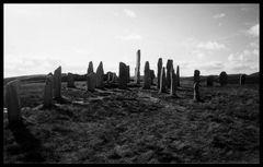 Vor 20 Jahren - Lewis - The Standing Stones of Callanish 1