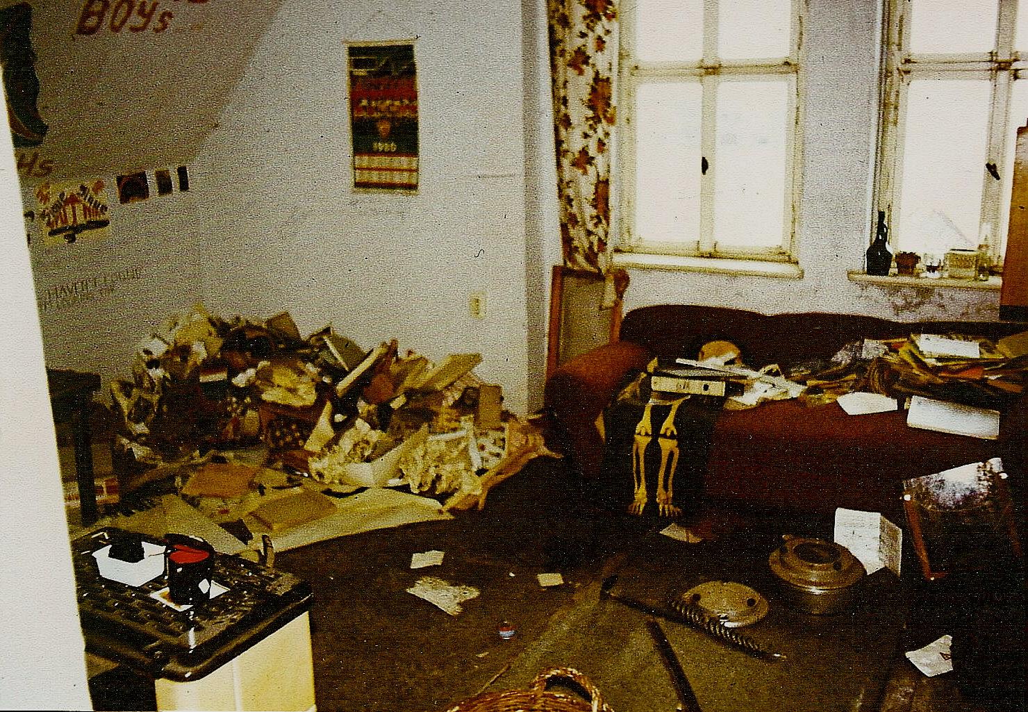 °°° Vor 23 Jahren - der zweite Blick - bei der Wohnungsübergabe °°°