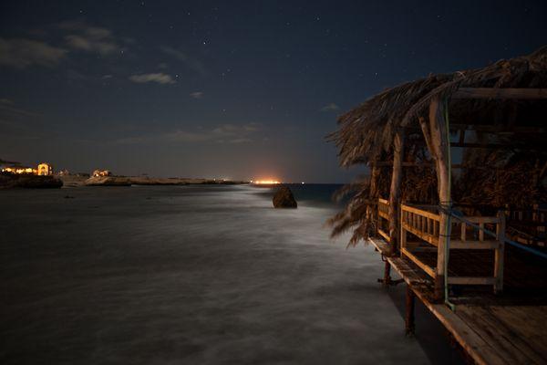 vor dem 1. Nachtauchgang in Hamata