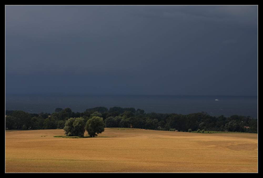Vor dem großen Regen II