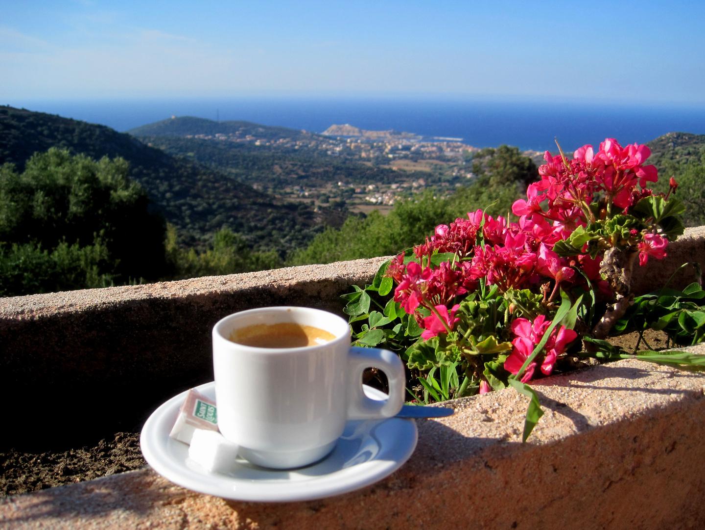Vor dem Kaffeetrinken