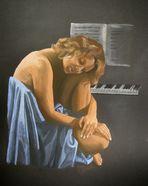 vor dem Klavier