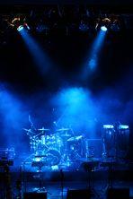 Vor dem Konzert...