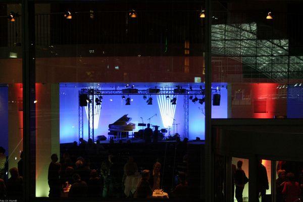 Vor dem Konzert, Audi Forum Ingolstadt