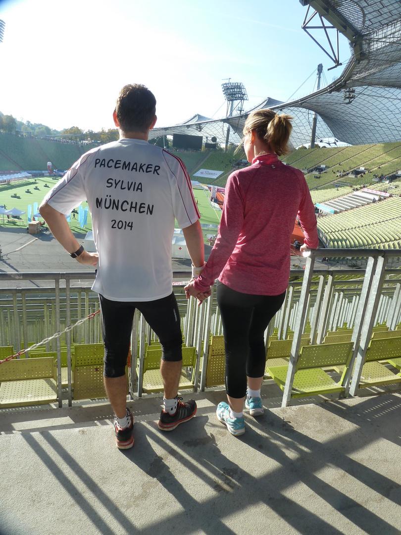 Vor dem Marathon