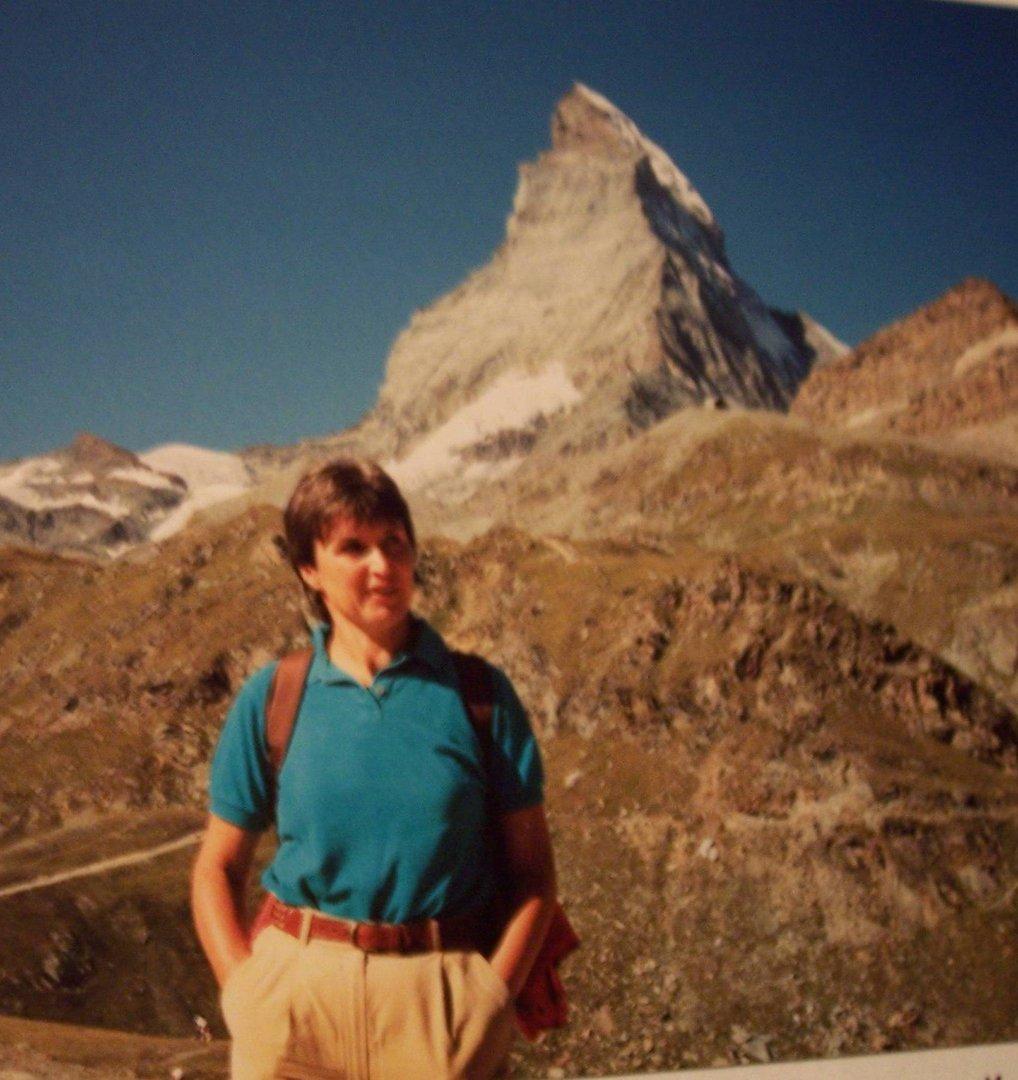 Vor dem Matterhorn