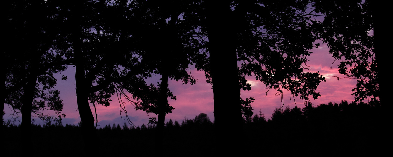 Vor dem Sonnenaufgang ...