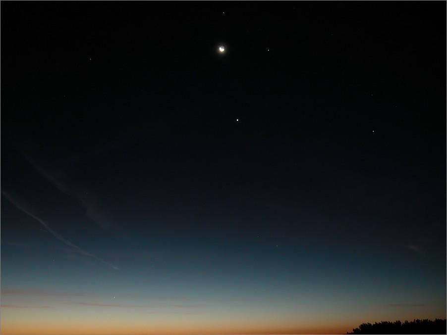 vor dem Sonnenaufgang