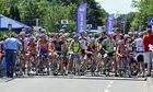 Vor dem Start der Elite zur Luxemburger Radsportmeisterschaft.