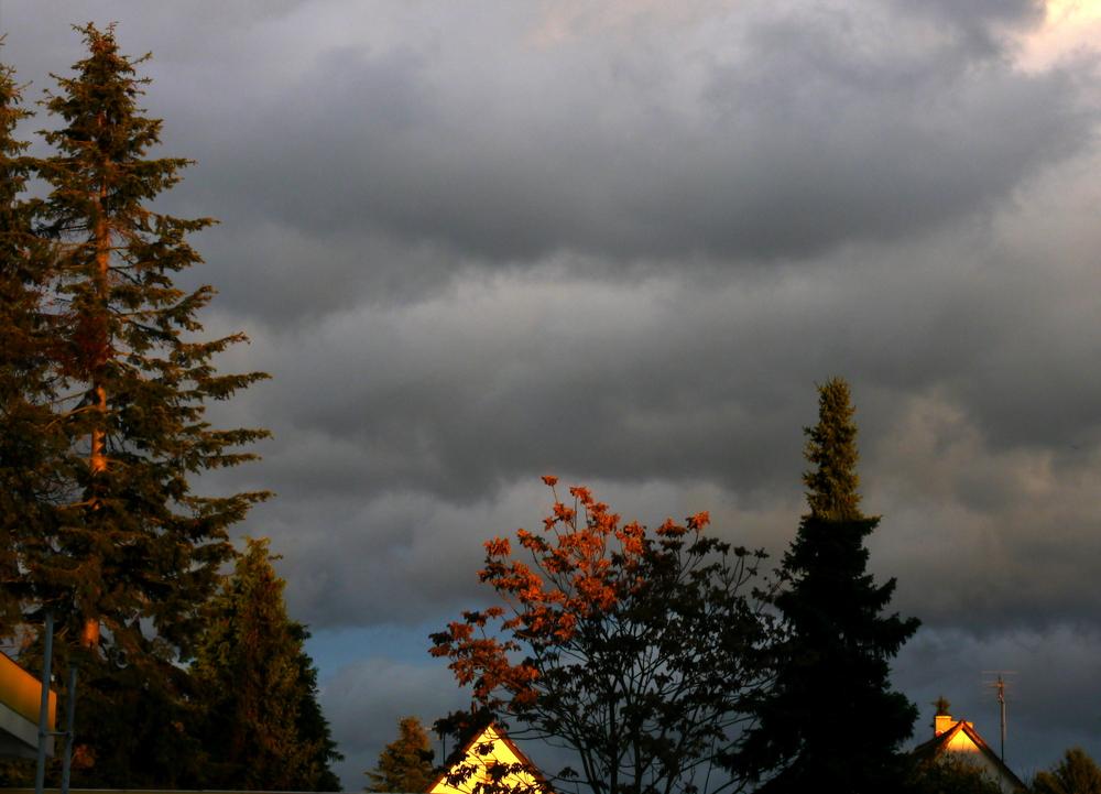 Vor dem Sturm ...